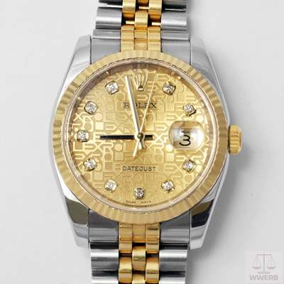 Rolex Date  116233, limited edition.