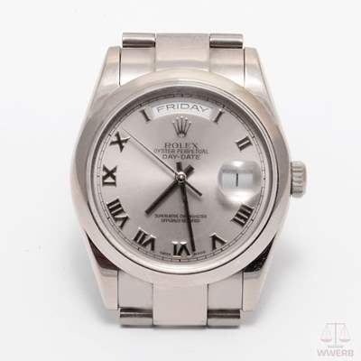 118209 Rolex Day-Date, White Gold